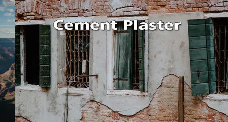 cement plaster