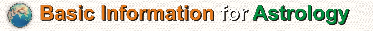 basic information for astrology 100
