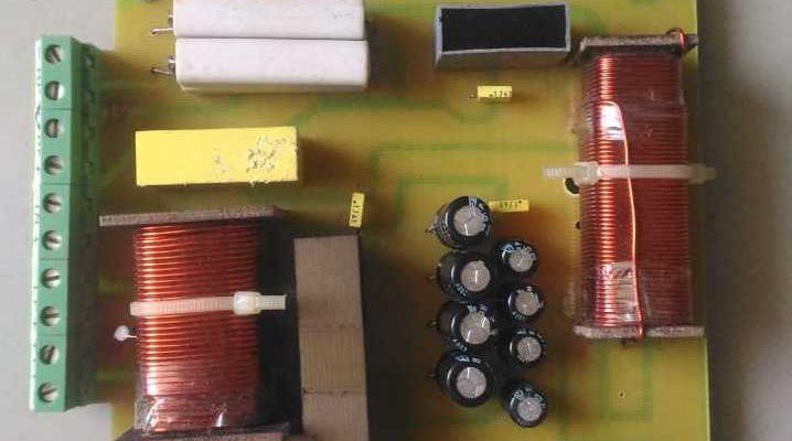1500 Watt Cross Over Net Work PCB complete pcb